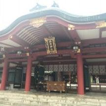 西宮神社へお朔日参り…