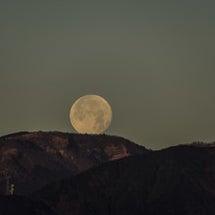 皆既月食奇跡の晴天