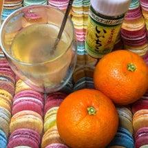 いいちこのお湯割り橙…