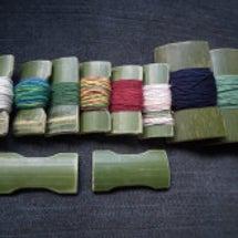 竹の糸巻き