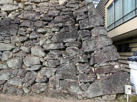 岡崎城天守台の石垣