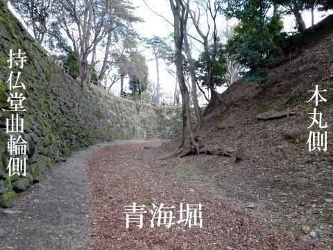 岡崎城青海堀の画像