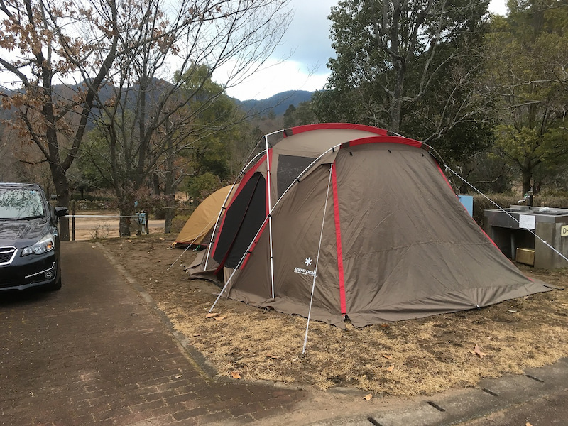 日本のへそ日時計の丘公園オートキャンプ場 | …