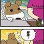 ★4コマ漫画「一番お…