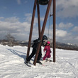 北海道スキー旅行 夕…