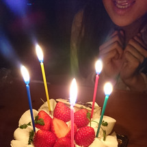 前もっての誕生日会?…
