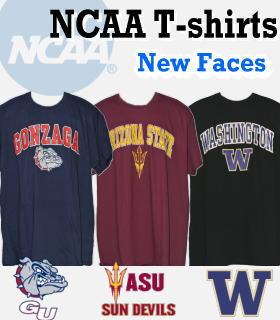 NCAA Tシャツ