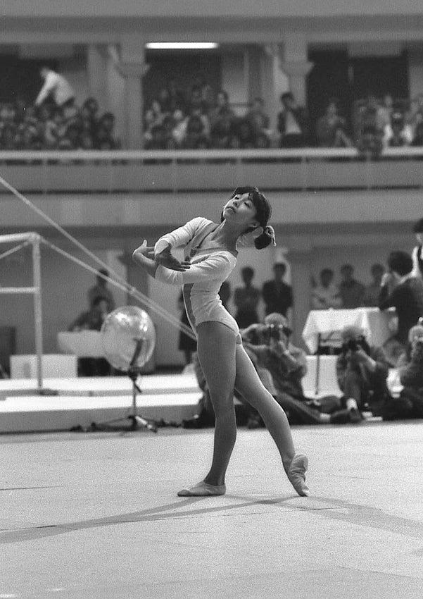 NHK杯体操競技大会(女子) IN 日大講堂(1976.4.25)