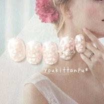 【桜デザイン】ふんわり桜舞う春ネイル *ジェルネイルチップ youkittanpの記事に添付されている画像