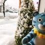 またまた雪ふってまー…