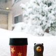 大雪の金沢、金箔体験…