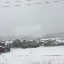 雪景色〜!