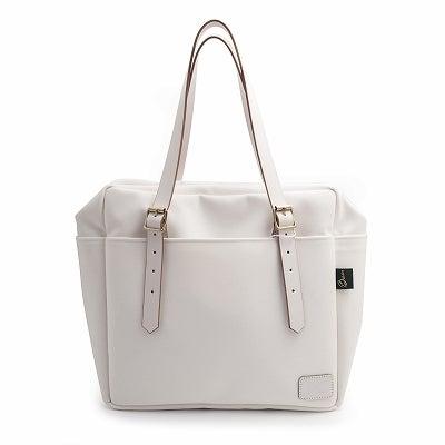 デイバッグ ホワイト DAY BAG (Zip Top)