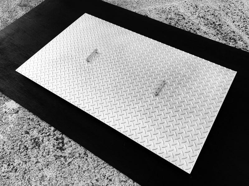 「2個1」にしたグリストラップの蓋を東京都へ