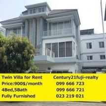 Twin villa…