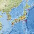 九州の地震計数値が上…