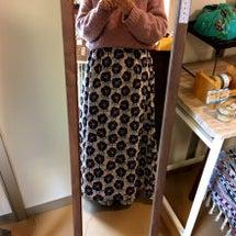 スカートできました