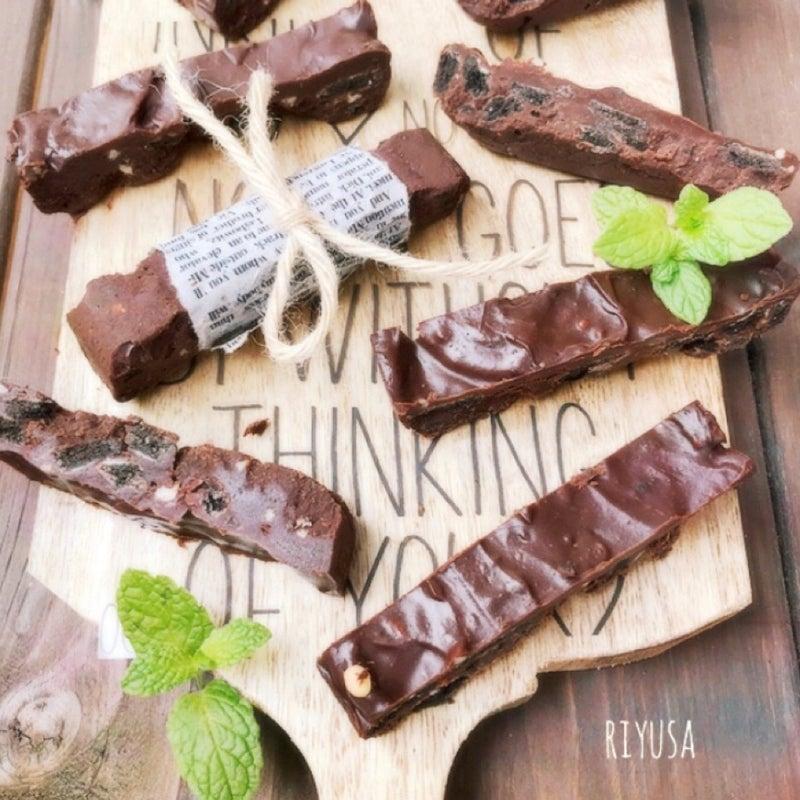 簡単なクセに激旨っ❤️タッパーで作れる❤️生チョコバー