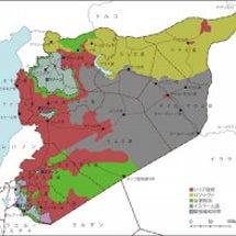 シリアを引き裂いてい…