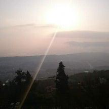 【目撃!】朝日が水平…