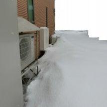 1メートル超えの積雪…