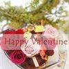 保育園前の楽しい時間♡娘と一緒にフラワーバレンタイン♡の画像