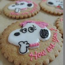 アイシングクッキーを…