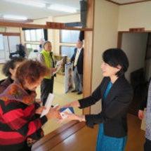 下田で国政報告会