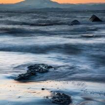 神奈川県から富士山を…