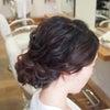 結婚式ヘアスタイル/神社挙式〜レストランウエディングのヘアメイクリハーサルの画像