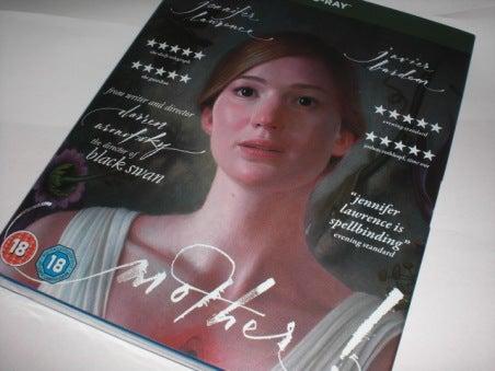 まずは一報を…ようやく英国Amazonに注文した「マザー!(原題:Mother!)」のBDが到着