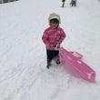 雪遊び→オープン祝い…