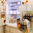 綺麗が続く冷蔵庫の収…
