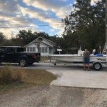 フロリダで釣り