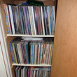 物入れ内のレコード。
