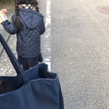 娘と幼稚園へ