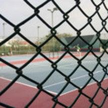 パタヤで初テニス