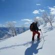 【外遊び】山頂の雪は…