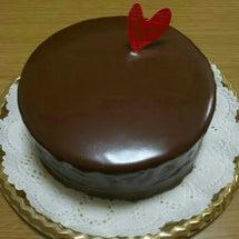 バレンタインケーキ作…