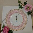 <募集>3月3日糸かけ曼荼羅時計を作りませんか?残席4名ですの記事より