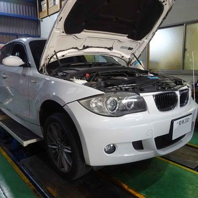トラブル修理-BMW 130i(E87)ブレーキの警告メッセージがいつまで経っての記事に添付されている画像