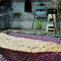 テヘランのパン屋の様…