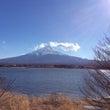 河口湖から富士山 を…