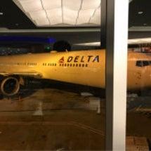 アトランタ空港で行列…