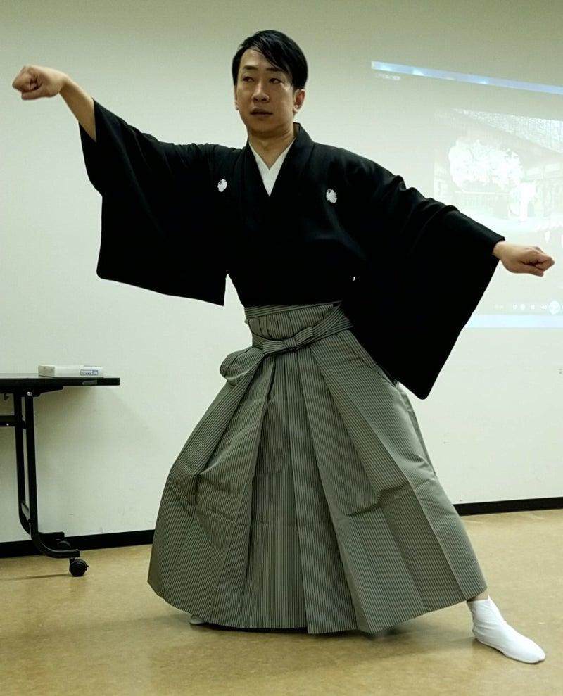 歌舞伎俳優(元)さんのセミナー...