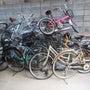 【布施の放置自転車】