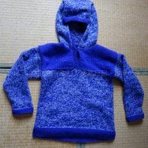 おばあちゃんの手編み…