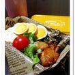 今日のお弁当(海老ピ…