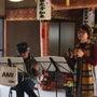 豊田善光寺堂での演奏…