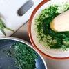 離乳食10<チンゲン菜>の画像